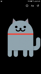 Android easter egg - cats large